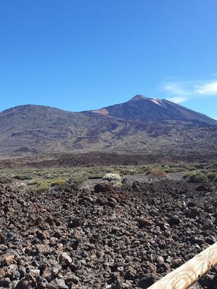 Nuestra subida al Teide
