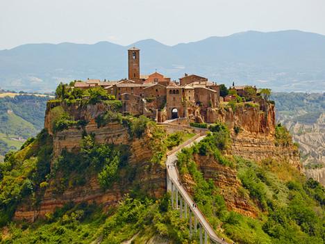 Pueblos impresionantes de Italia