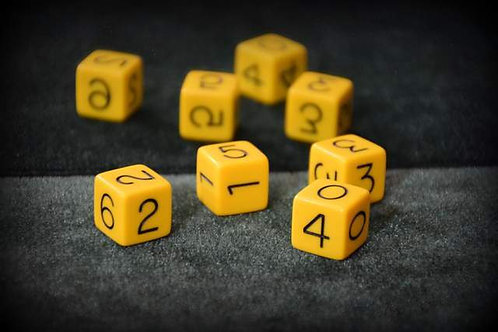 Paradox Trick Yellow (4 Dice)