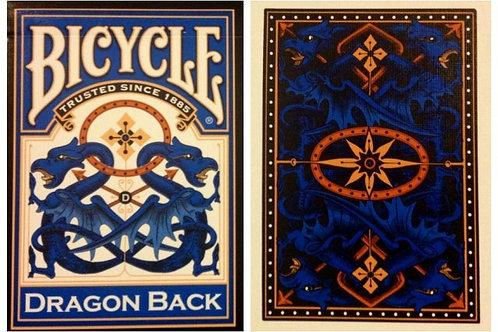 Bicycle Dragon Back Blue