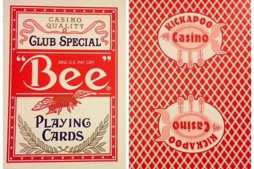 Bee Kickapoo Casino Red