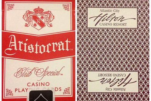 Aristocrat Hilton Casino Burgundy