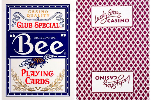 Bee Lucky Star Casino Burgundy