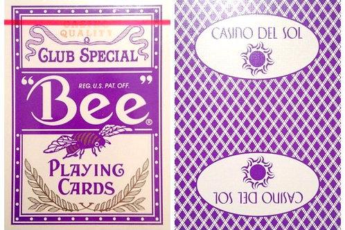 Bee Casino Del Sol Purple