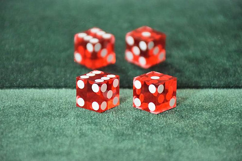 Pair of Mag Dice Red