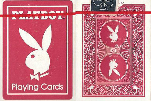 Playboy Playing Cards (Red)