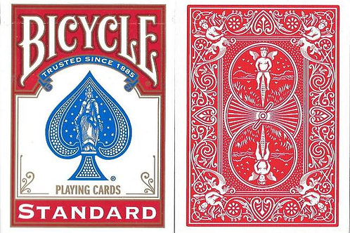 Bicycle Rider Back Red