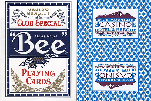 Bee UTE Mountain Casino Cyan Blue