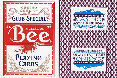 Bee UTE Mountain Casino Burgundy