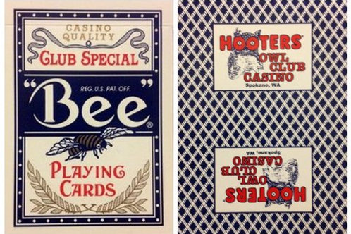 Bee Hooters Owl Club Casino Blue
