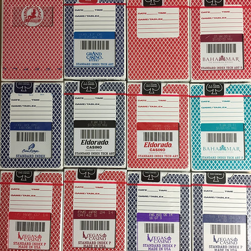 STANDARD INDEX Bee & Aristocrat Collector's Box (12)