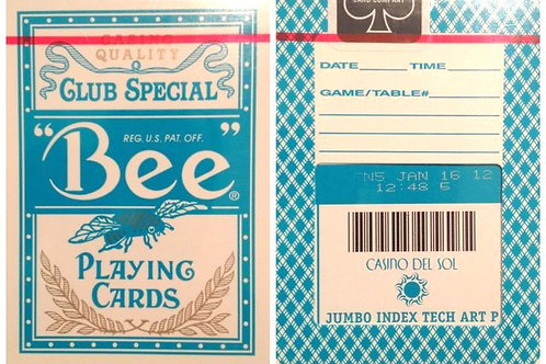 Bee Casino Del Sol Turquoise