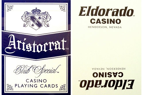 Aristocrat Eldorado Casino White & Black
