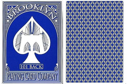 Brooklyn Playing Cards (Blue)