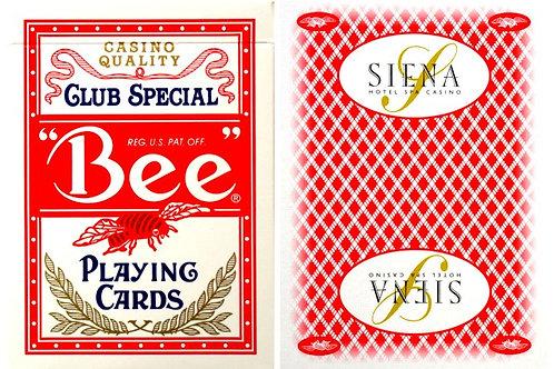 Bee Sienna Casino Red