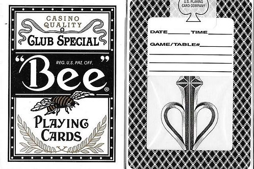 Bee Split Spades (Very First Edition) *White Seal by David Blaine