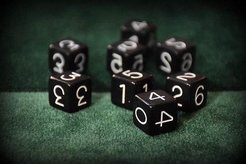Paradox Trick Black (4 Dice)