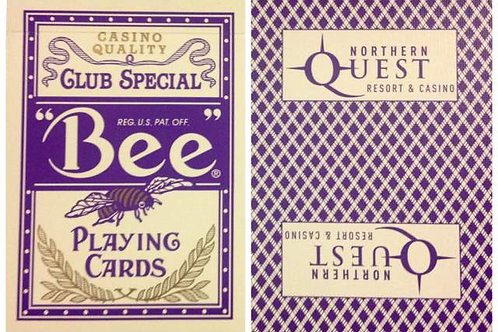 Bee Northern Quest Casino Purple