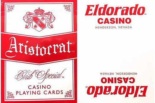 Aristocrat Eldorado Casino White & Red