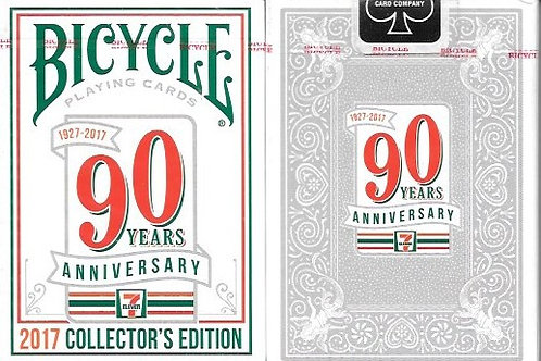 Bicycle 7 Eleven 90 years anniversary