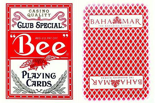 Bee Bahamar Casino Red
