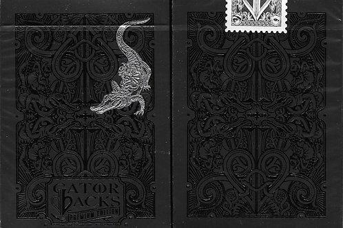 Gator Back by David Blaine (Black)