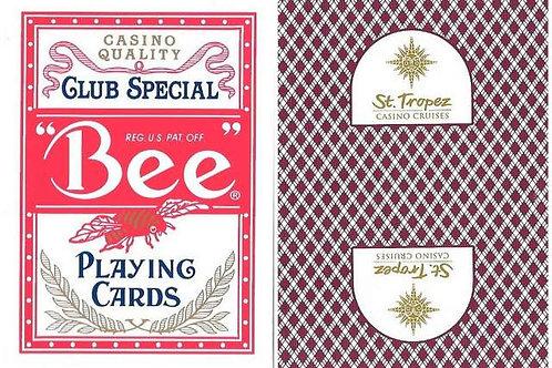 Bee St-Tropez Casino Burgundy