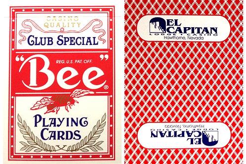 Bee El Capitain Casino Red