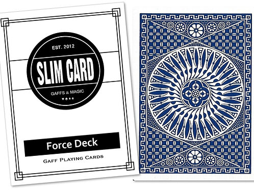 Tally-Ho Force Deck (Blue Circle Back)