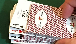 Gaffed Playing Cards