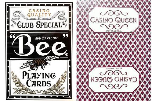 Bee Casino Queen Burgundy