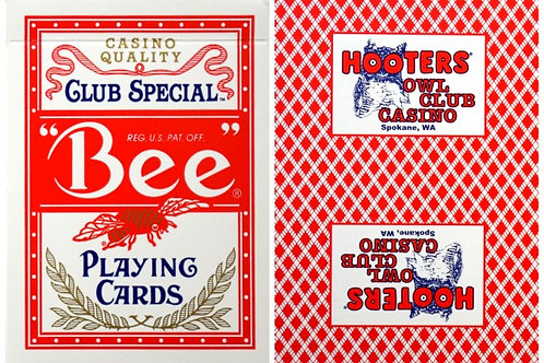 Bee Hooters Owl Club Casino Red