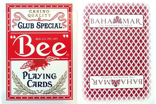 Bee Bahamar Casino Dark Red