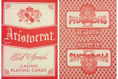 Aristocrat Pharaoh Casino Red