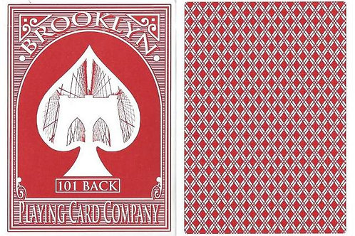 Brooklyn Playing Cards (Red)