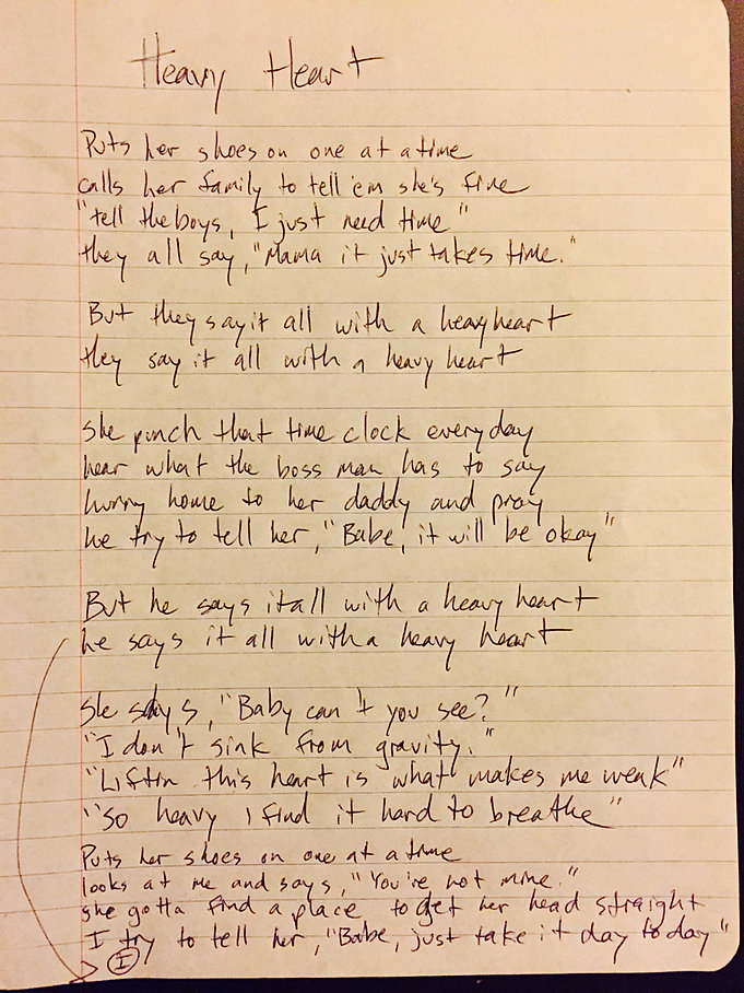Jon Morrow and the Landslide | Lyrics