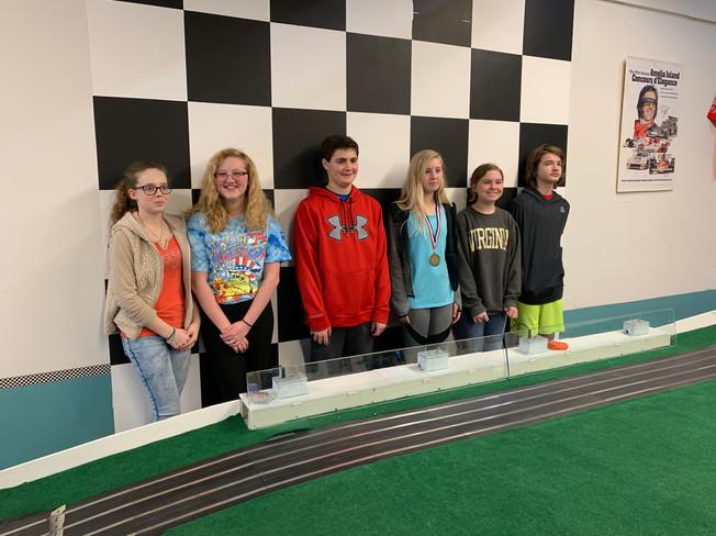Juniors Race Participants