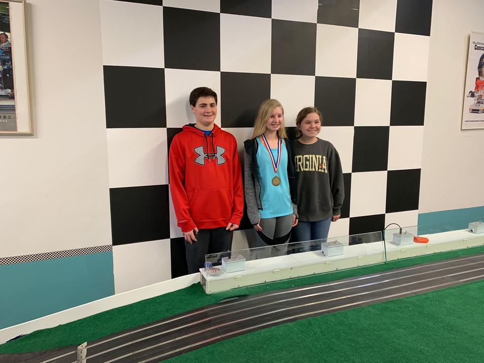 Juniors Race Winners
