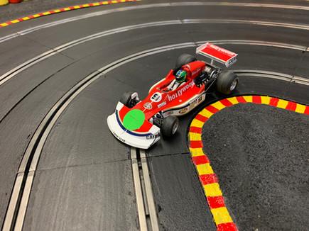 70-80s F1 in a turn