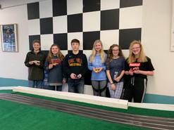 Junior race participants