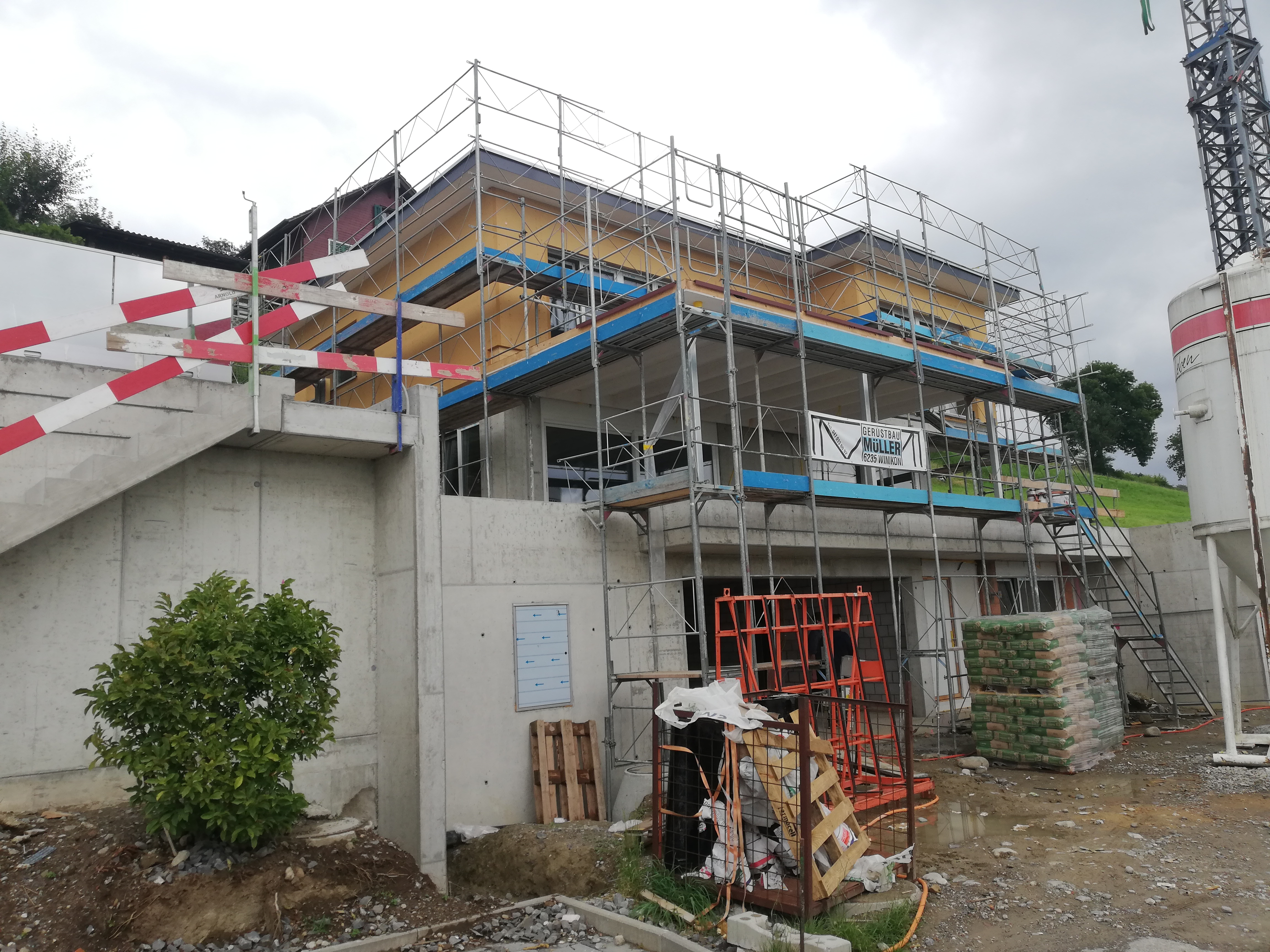 Neubau EFH Wauwil