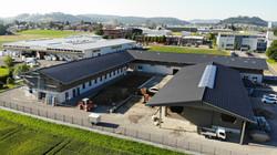 Neubau Pferdeklinik Niederlenz