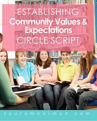 Establishing Community Values & Expectat