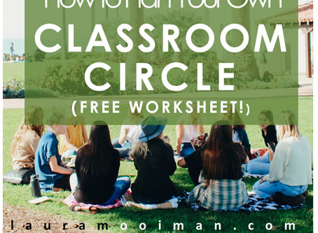 How to Plan Your Own Classroom Circle