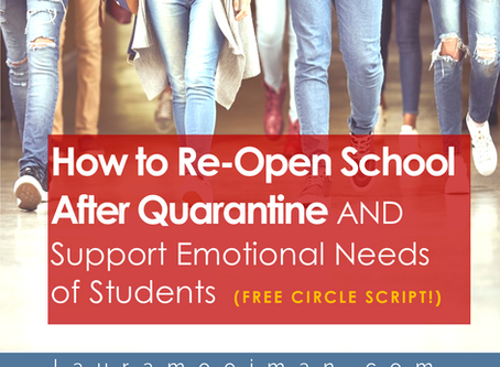How to Re-Open School After Quarantine AND Support the Emotional Needs of Students