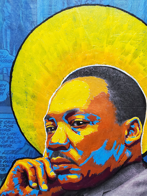 Martin Luther King Jr. Icon - PRINT