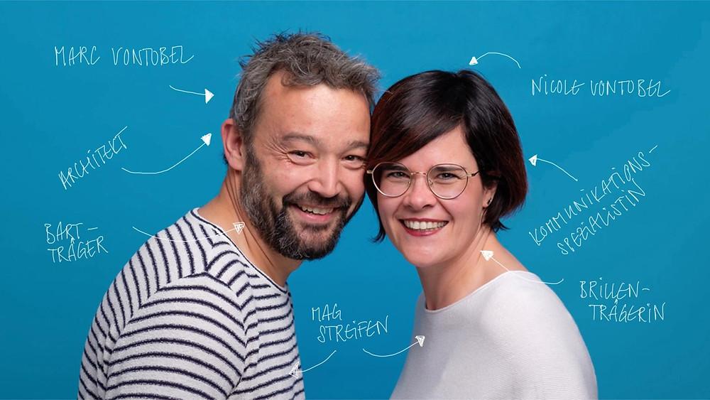 Das JUURLY-Gründerpaar Marc und Nicole Vontobel