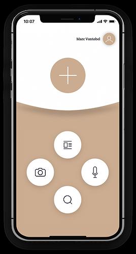 JUURLY Smartphone Dashboard