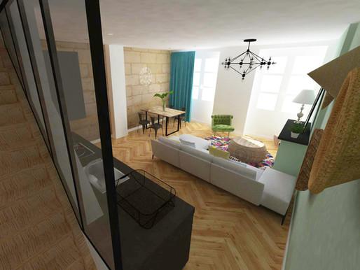 Restructurationd'un appartement en duplex à Bordeaux [33]