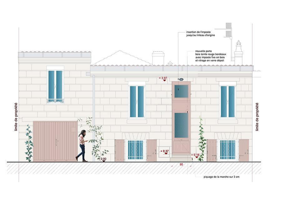 Façade_échoppe_bordeaux_architecte_Sophi
